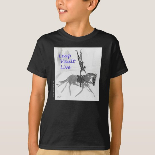 T Shirt - Equestrian Vaulting