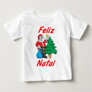 """T-shirt for babies """"Happy Christmas """""""