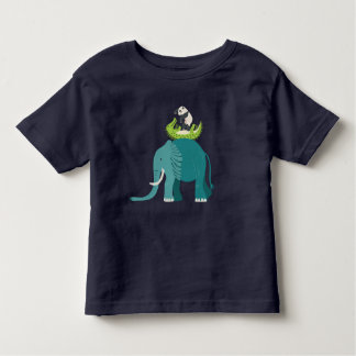 T-shirt for children with animal of the forest