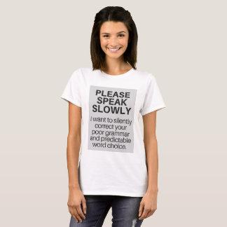 T-Shirt for Smug Writers Everywhere