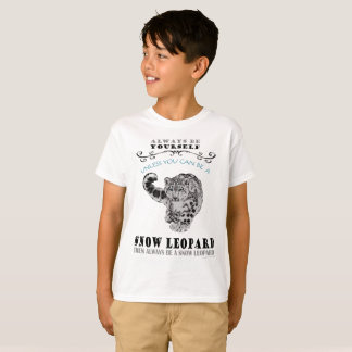 T-Shirt for Snow Leopards - kids