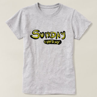 t-shirt for sundays or fun days