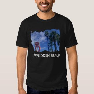 T-SHIRT FORBIDDEN BEACH