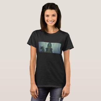 T-shirt forest sea landscape blue ocean