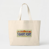 T-Shirt Fort Brand Large Tote Bag