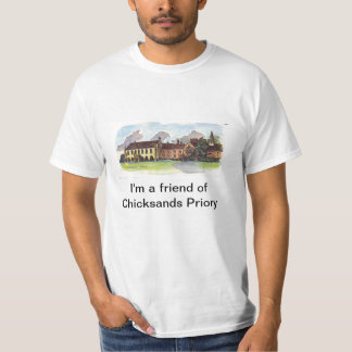 T shirt Friend of Chicksands Priory
