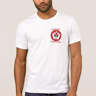 T-Shirt GIBRALTAR OUTLAW SKULL