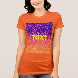 T-Shirt Glitter Graphic
