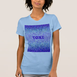 T-Shirt Glitter Graphic Background