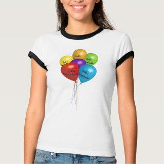 T-shirt Globes Birthday