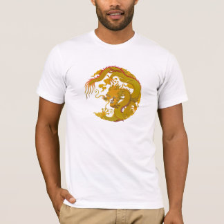 T-Shirt Golden Dragon (008)