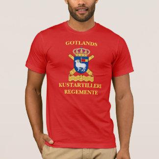 T-shirt Gotlands Kustartilleriregemente.