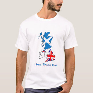 T Shirt Great Britain 2014