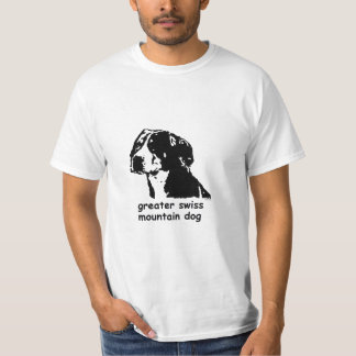 T-shirt Greater Swiss Mountain Dog
