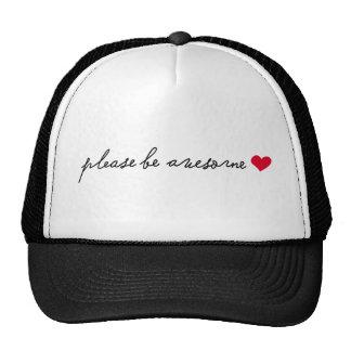 t-shirt trucker hats