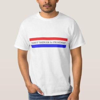 T-Shirt:  Honey Badger for President T-Shirt