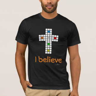 "T-shirt ""I BELIEVE"" by Rubika - color"