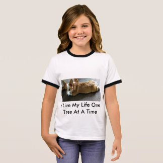 T-shirt I live my life one tree at a time
