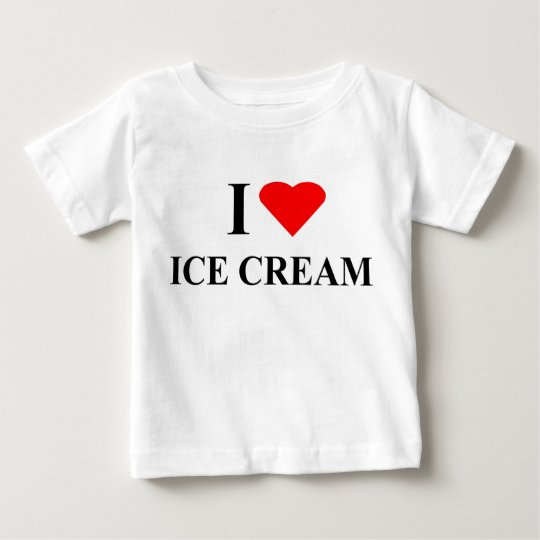 T-Shirt - I Love Ice Cream