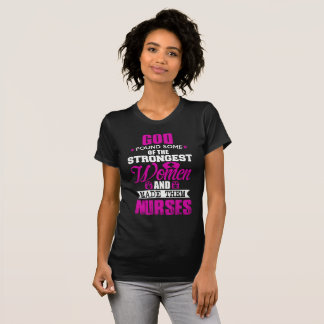 T-shirt Joust God Created Nurses Women