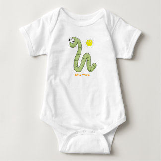 "T-Shirt Kid's Tots Baby ""Little Worm"""