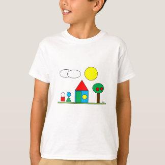 T-shirt Landscape By Par3a
