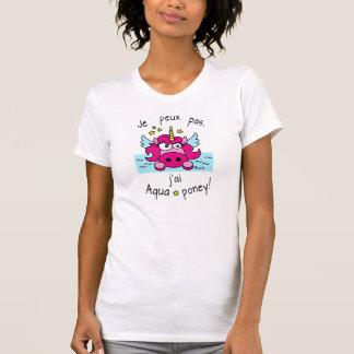 """T-shirt Licorne """"I cannot, I have aquaponey! """""""