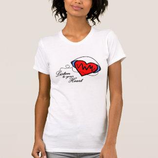 T-shirt Listen you your heart