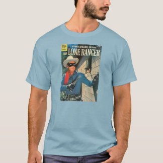 T-Shirt Lone Ranger 1960 Comic Book Cover