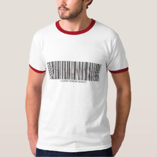 T-shirt Love Is in the air Barcode