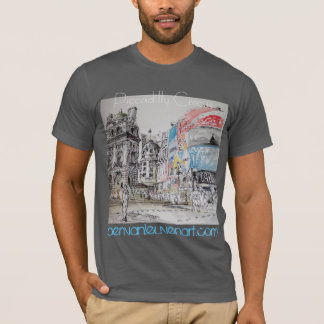 T-shirt Man Piccadilly Circus