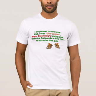 T-Shirt - Mayor Bloomberg's bodyguards