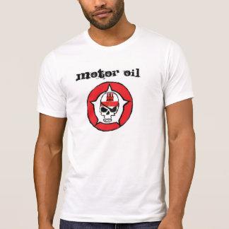 T-Shirt, MOTOR OIL OUTLAW SKULL W/H GIBRALTAR FLAG T-Shirt