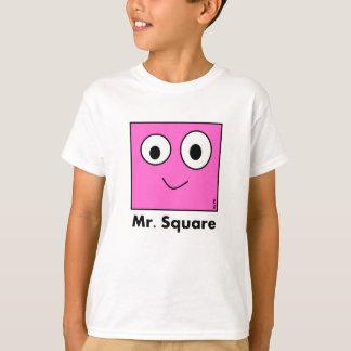 T-shirt Mr. Square By Par3a