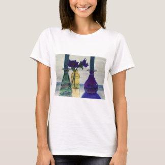 t-shirt - my pretty glass vases