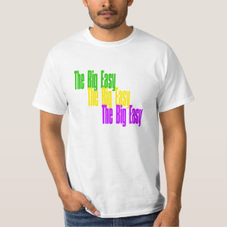 T-shirt New Orleans The Big Easy LA Mardi Gras
