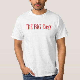 T-shirt New Orleans The Big Easy LA Mardi Gras