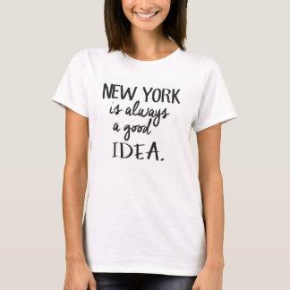 T-Shirt New York is a good idea