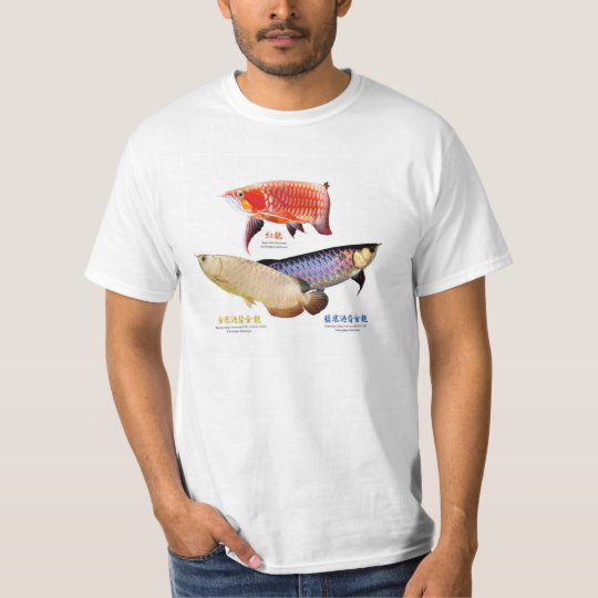 T shirt of ajiaarowana