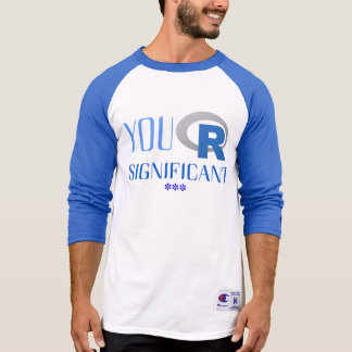 T-shirt of long sleeve You R Significant ***