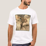 T-Shirt: Old Woman in the Wood - A. Rackham T-Shirt