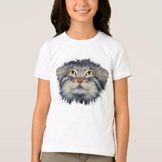 T shirt - pallas cat head