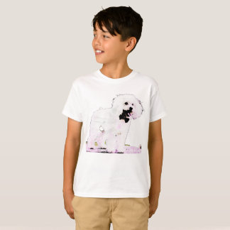 T-shirt poodle for boy