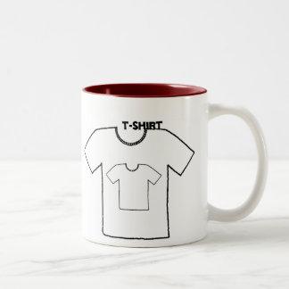 T-shirt print Mug