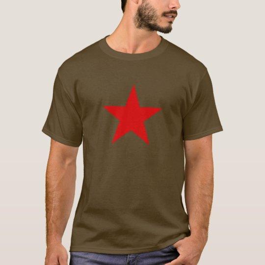t-shirt,redstar,red, star T-Shirt
