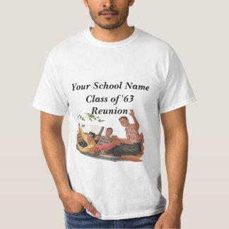 T-shirt Retro Vintage Class Reunion Souvenir Top