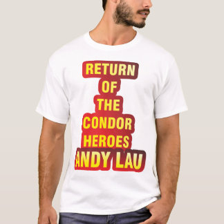 T-Shirt Return Of The Condor Heroes Andy Lau