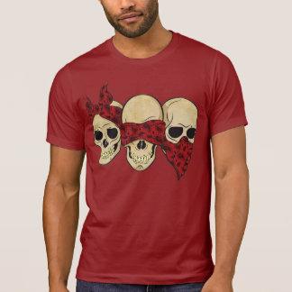 """T-shirt """"Skull (deaf, blind, dumb) """""""