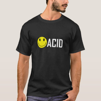 T-Shirt Smiley Acid