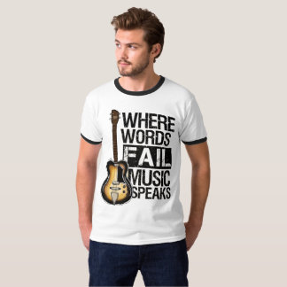 "T-shirt style backward ""Where Words… """